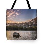 Golden Gunsight Peak Tote Bag