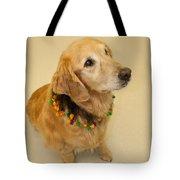 Golden Halloween Tote Bag