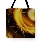 Golden Halo Tote Bag by Anastasiya Malakhova