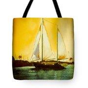 Golden Harbor  Tote Bag