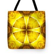 Golden Harmony - 4 Tote Bag
