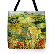 Golden Hedge Tote Bag