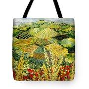 Golden Hedge Tote Bag