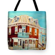 Golden Homemade Baked Goods Tote Bag