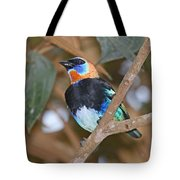 Golden-hooded Tanager Tote Bag