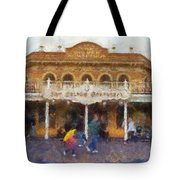 Golden Horseshoe Frontierland Disneyland Photo Art 02 Tote Bag