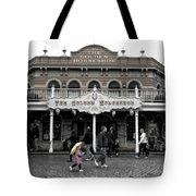 Golden Horseshoe Frontierland Disneyland Sc Tote Bag