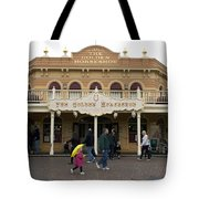 Golden Horseshoe Frontierland Disneyland Tote Bag