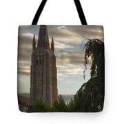 Golden Hour Church Glow Tote Bag