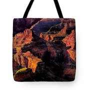 Golden Hour Mather Point Grand Canyon National Park Tote Bag