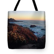 Golden Hour On Garrapata Tote Bag