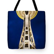 Golden Hour Tower Tote Bag