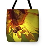 Golden Hoverfly 2 Tote Bag