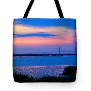 Golden Isles Bridge Tote Bag