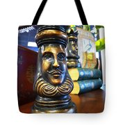 Golden King Tote Bag by Richard Reeve