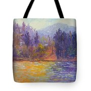 Golden Lake Gregory Tote Bag