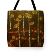 Golden Leaves 2 Tote Bag