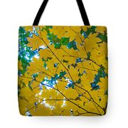 Golden Leaves Of Autumn Tote Bag