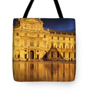 Golden Louvre - Paris Tote Bag