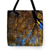Golden Maple 8 Tote Bag
