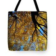 Golden Maple 9 Tote Bag