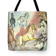 Golden Mare Tote Bag
