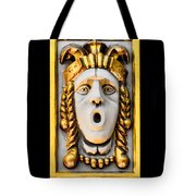 Golden Mask II Tote Bag