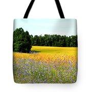 Golden Meadow Tote Bag