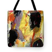 Golden Moon Tote Bag