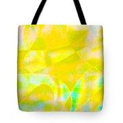 Golden Music Tote Bag