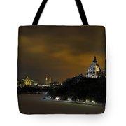 Golden Night... Tote Bag