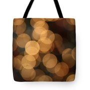 Golden Orbs Tote Bag