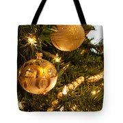 Golden Ornaments Tote Bag