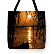 Golden Palapa Tote Bag