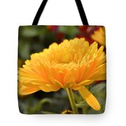 Golden Petals Tote Bag