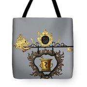 Golden Pharmacy Sign Tote Bag
