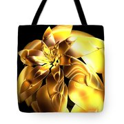 Golden Pineapple By Jammer Tote Bag