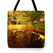 Golden Pond 4 Tote Bag