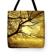 Golden Pond Tote Bag by Ann Powell