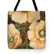 Golden Poppies Tote Bag