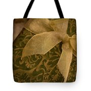 Golden Present Tote Bag