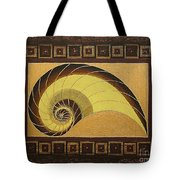Golden Ratio Spiral Tote Bag