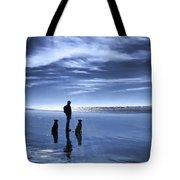 Golden Retriever Dogs End Of The Day Tote Bag