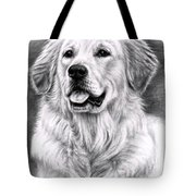 Golden Retriever Spence Tote Bag