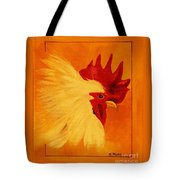 Golden Rooster Tote Bag