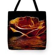 Golden Rose Tote Bag