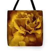 Golden Yellow Roses Tote Bag