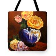 Golden Roses Jenny Lee Discount Tote Bag
