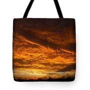 Golden Saguaro Tote Bag