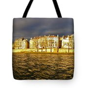 Golden Seine Tote Bag